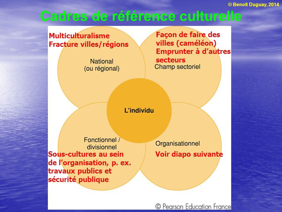 Cadres de référence culturelle