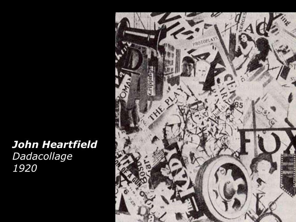 John Heartfield Dadacollage 1920