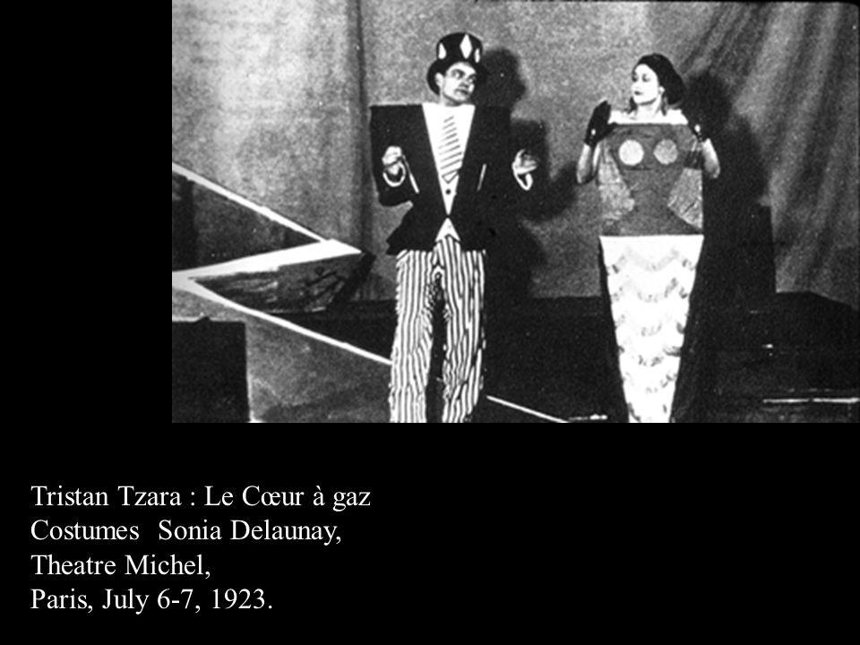 Tristan Tzara : Le Cœur à gaz