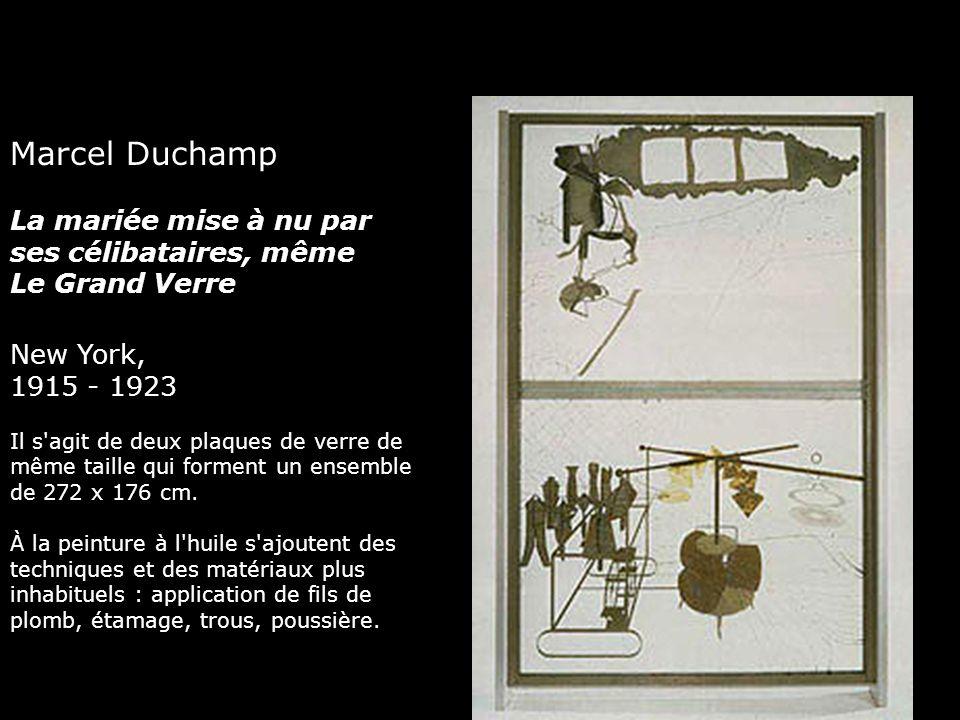 Marcel Duchamp La mariée mise à nu par ses célibataires, même