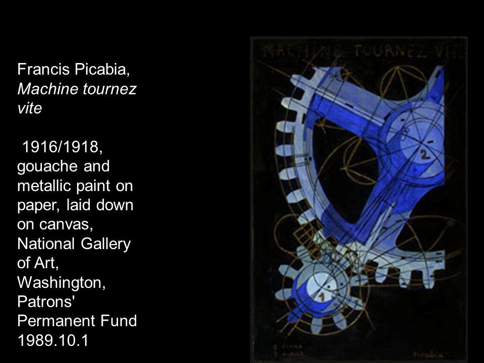 Francis Picabia, Machine tournez vite