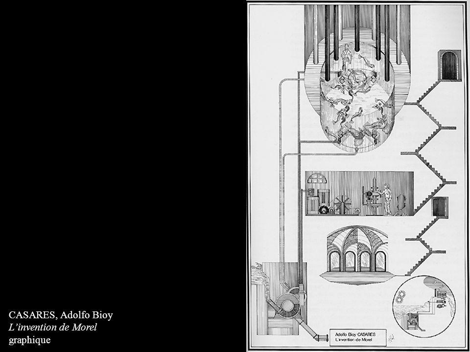CASARES, Adolfo Bioy L'invention de Morel graphique