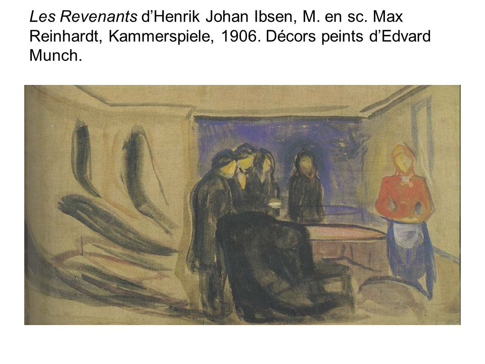 Les Revenants d'Henrik Johan Ibsen, M. en sc