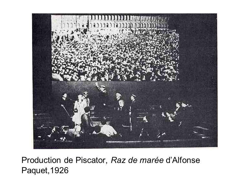 Production de Piscator, Raz de marée d'Alfonse Paquet,1926