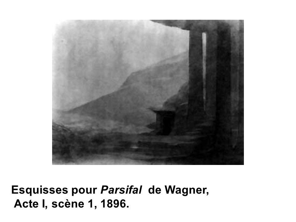 Esquisses pour Parsifal de Wagner,