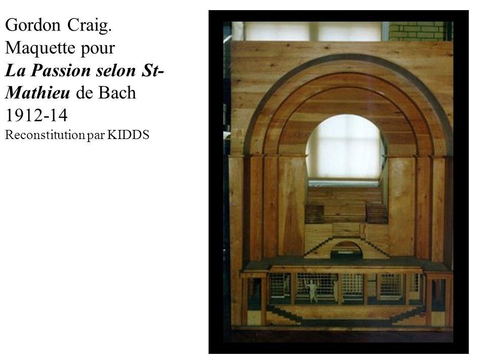 La Passion selon St-Mathieu de Bach 1912-14