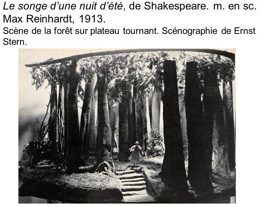 Le songe d'une nuit d'été, de Shakespeare. m. en sc