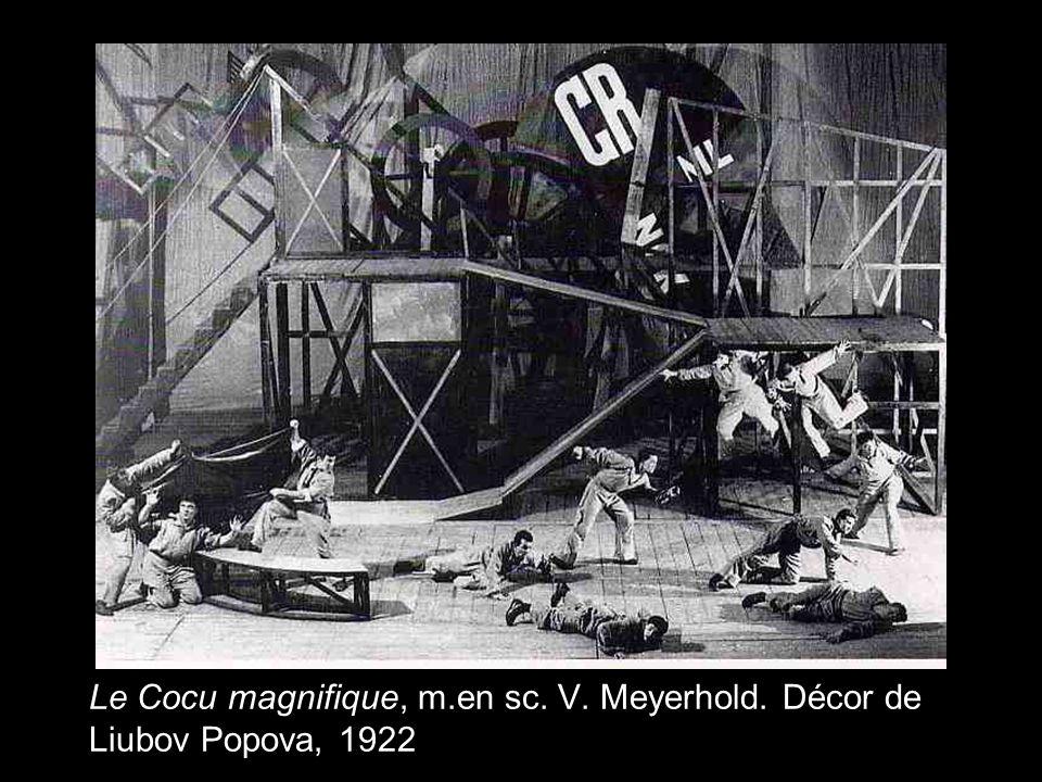 Le Cocu magnifique, m. en sc. V. Meyerhold
