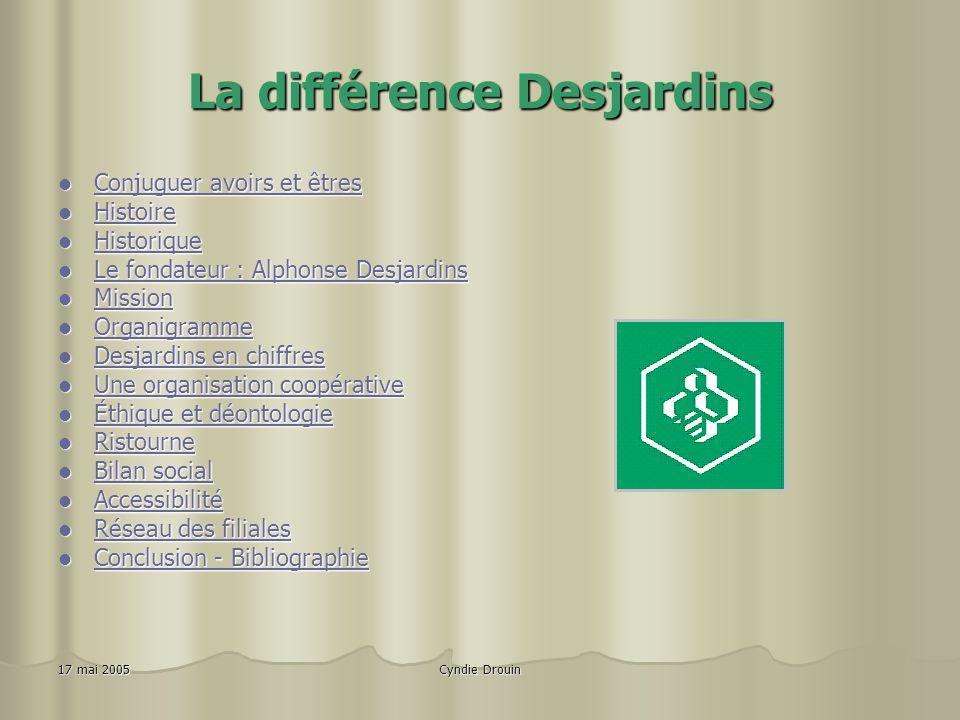 La différence Desjardins