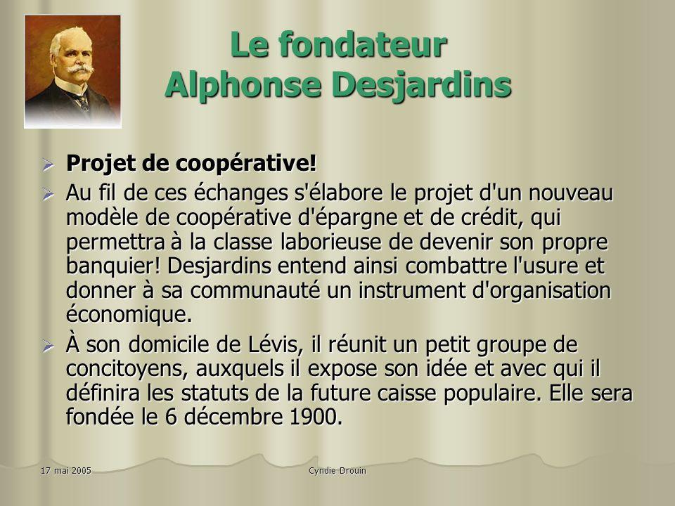 Le fondateur Alphonse Desjardins