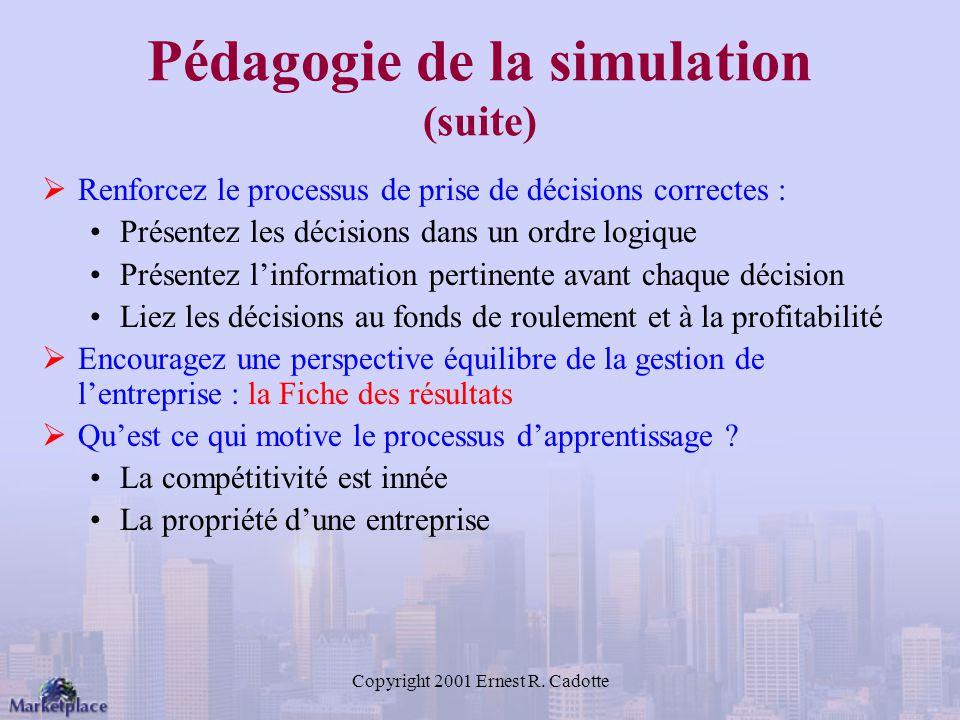 Pédagogie de la simulation