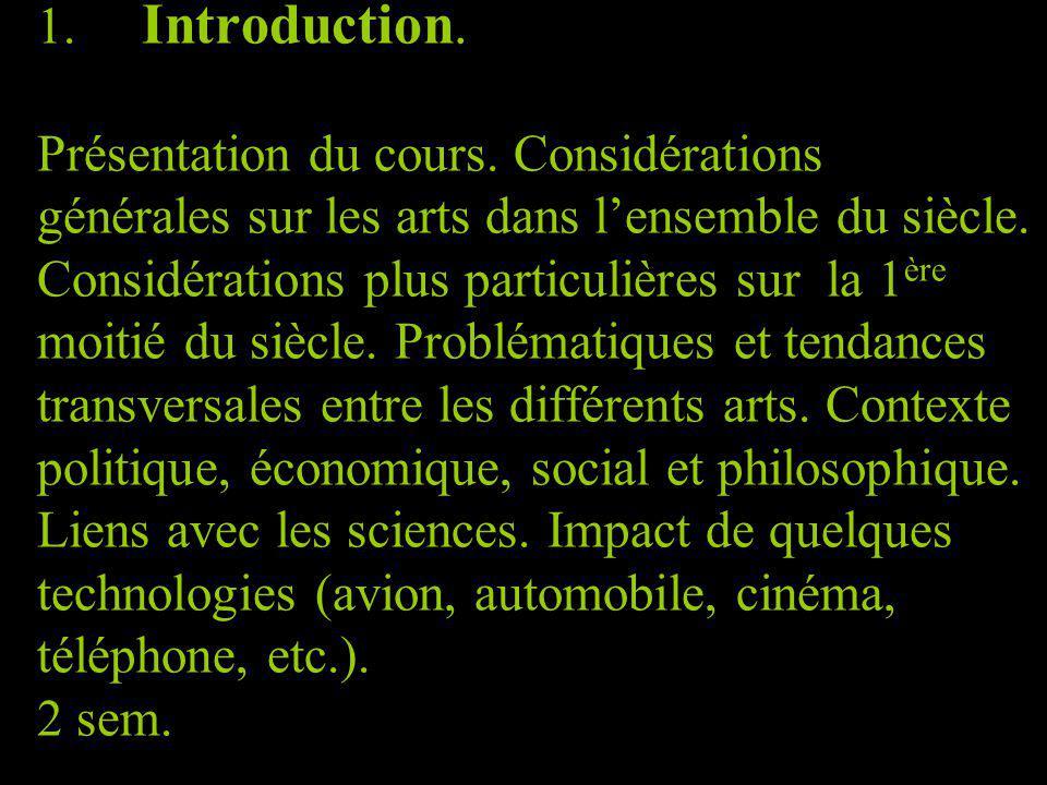 1. Introduction. Présentation du cours