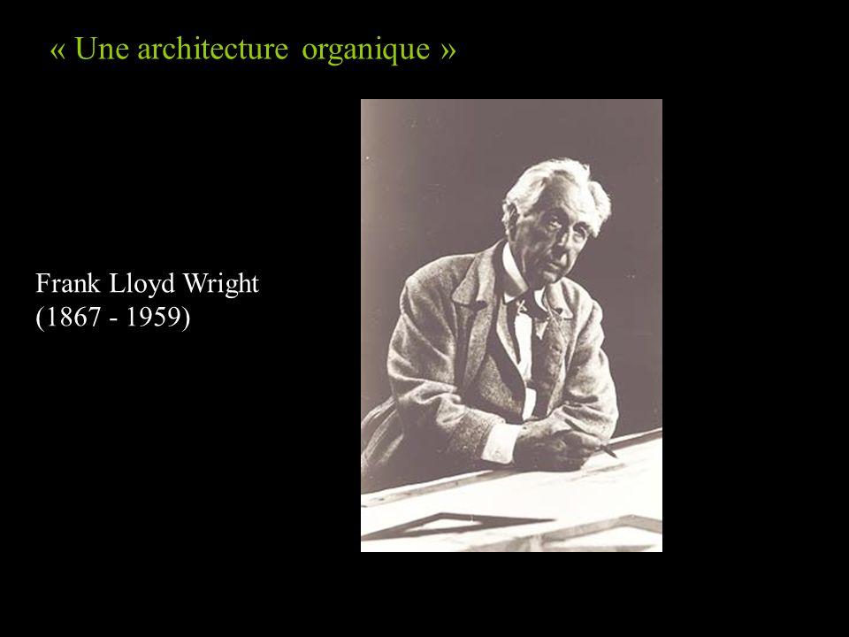 « Une architecture organique »