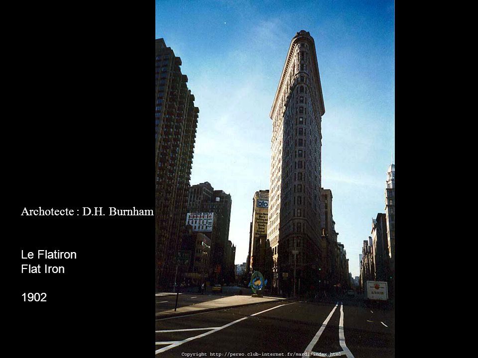 Archotecte : D.H. Burnham