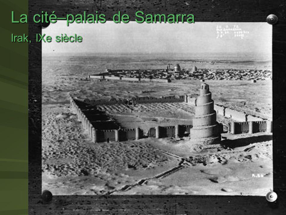 La cité–palais de Samarra Irak, IXe siècle