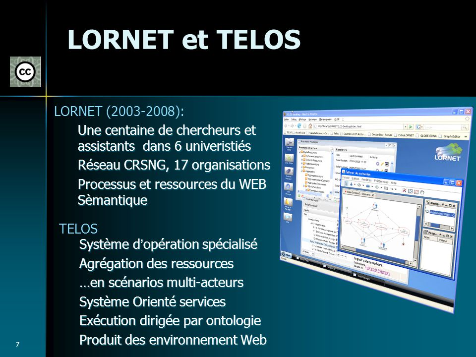LORNET et TELOS LORNET (2003-2008):