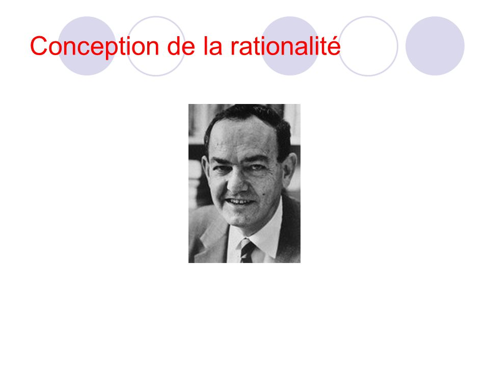 Conception de la rationalité