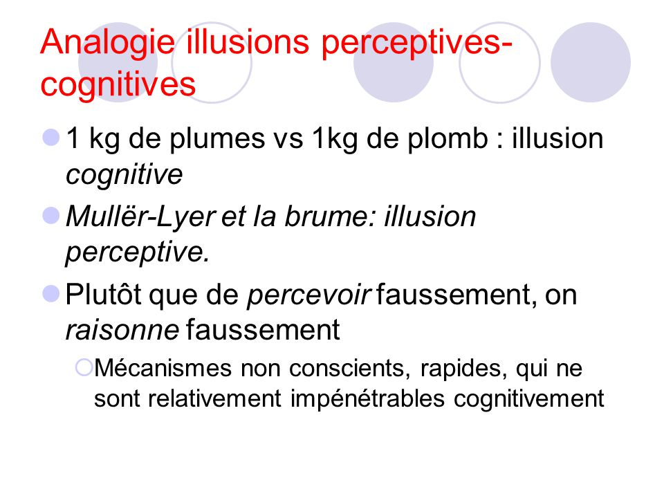 Analogie illusions perceptives-cognitives