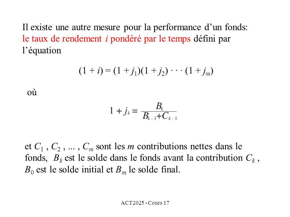 (1 + i) = (1 + j1)(1 + j2) · · · (1 + jm)