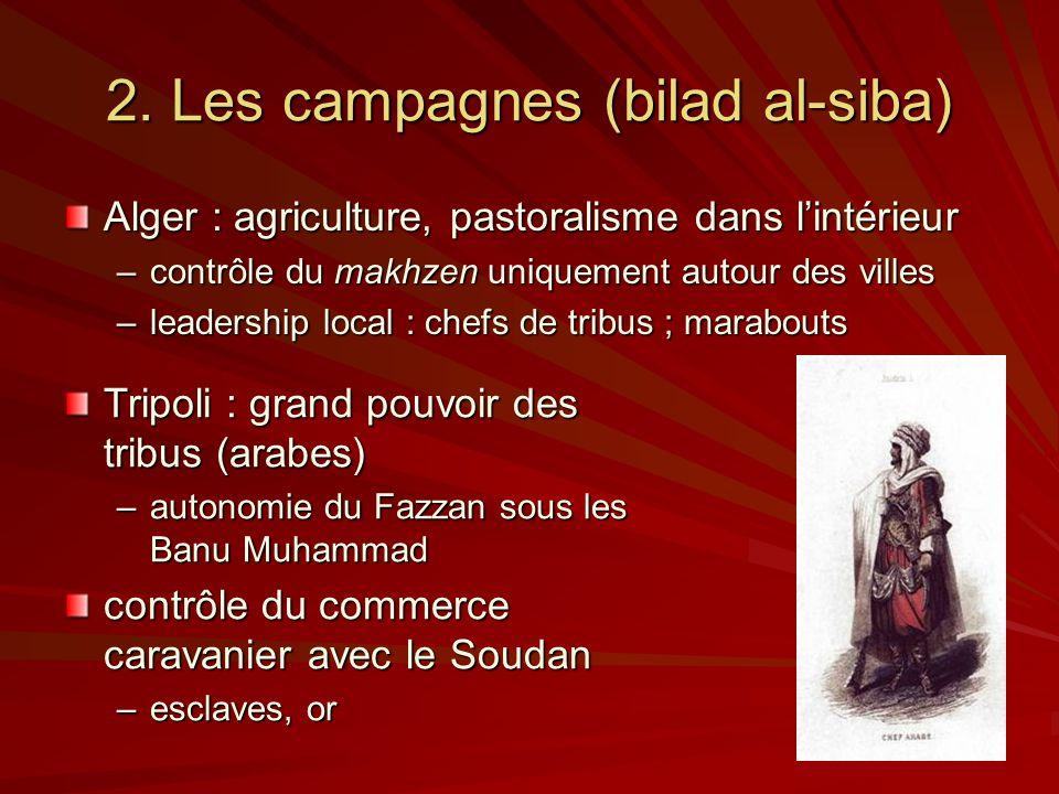 2. Les campagnes (bilad al-siba)