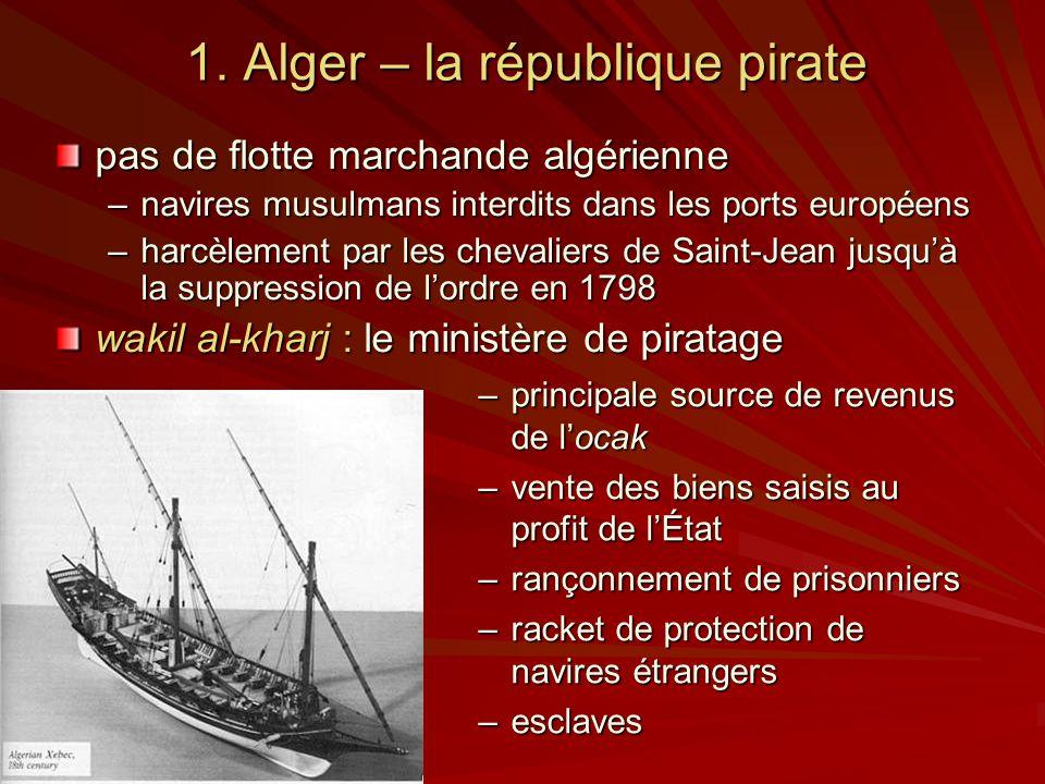 1. Alger – la république pirate