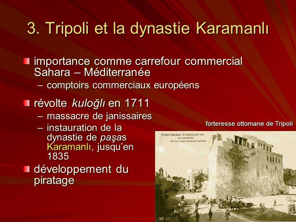 3. Tripoli et la dynastie Karamanlı