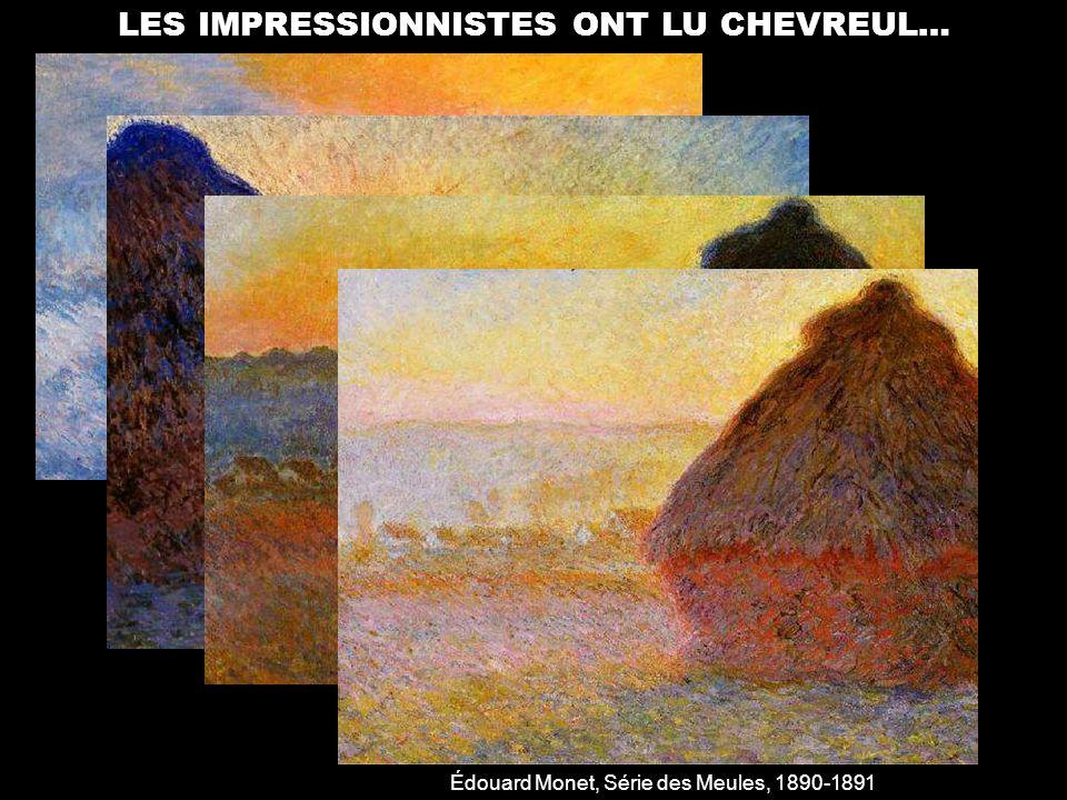 LES IMPRESSIONNISTES ONT LU CHEVREUL…