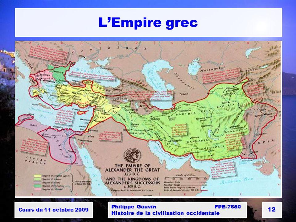 L'Empire grec Philippe Gauvin FPE-7650