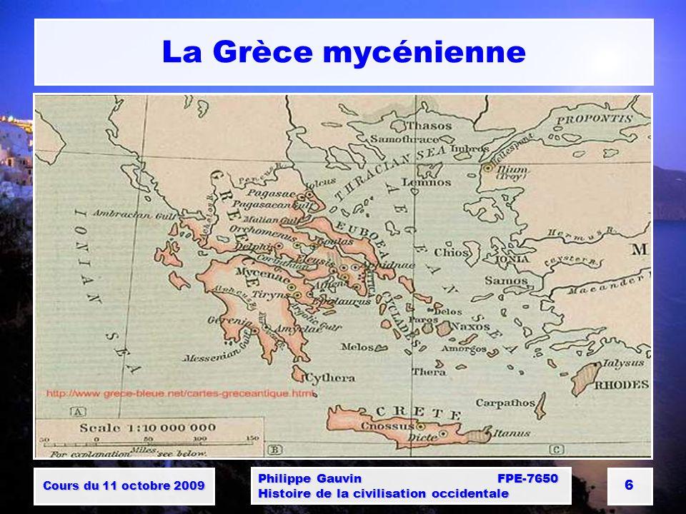 La Grèce mycénienne Philippe Gauvin FPE-7650