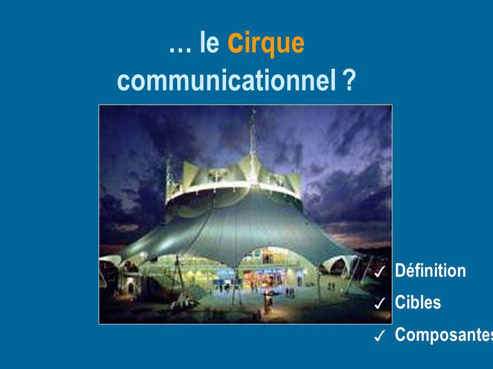 … le cirque communicationnel