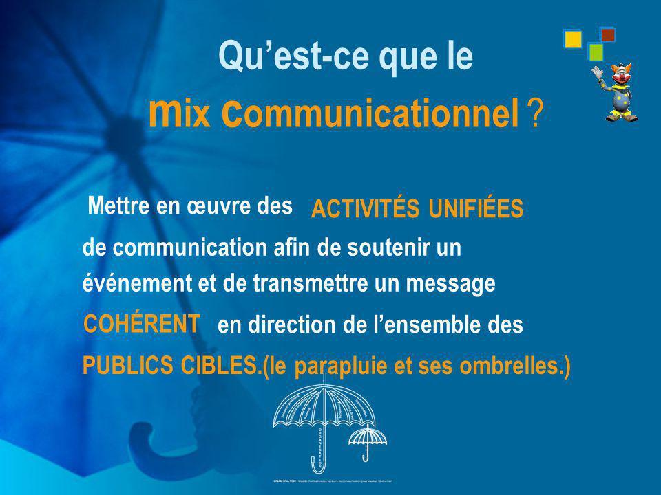 Qu'est-ce que le mix communicationnel