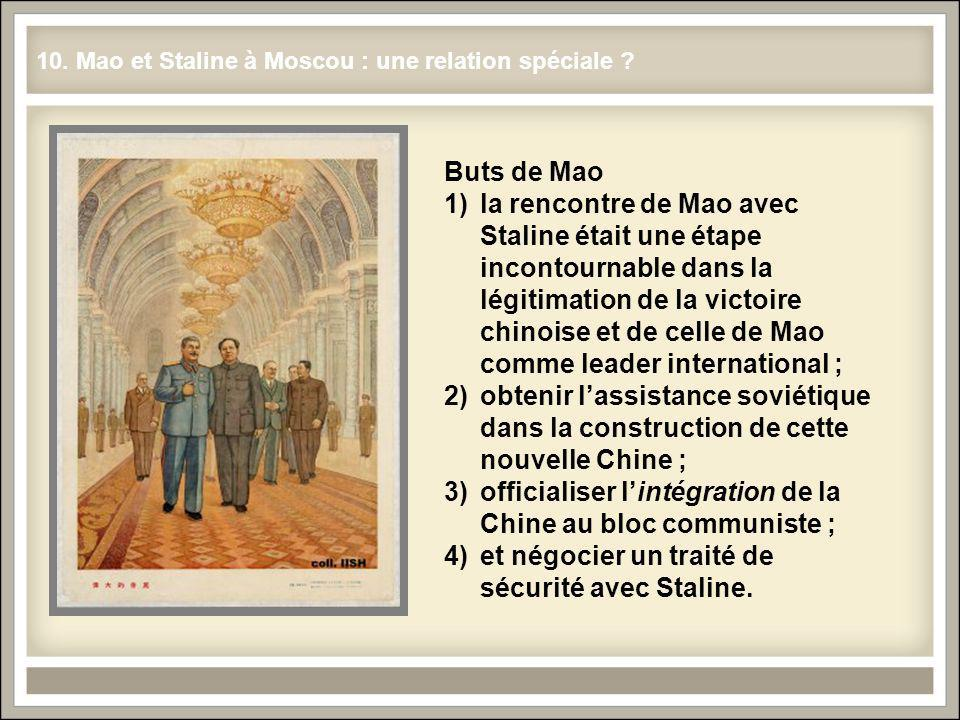 officialiser l'intégration de la Chine au bloc communiste ;
