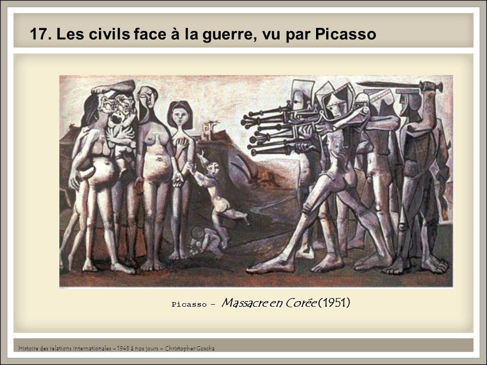 17. Les civils face à la guerre, vu par Picasso