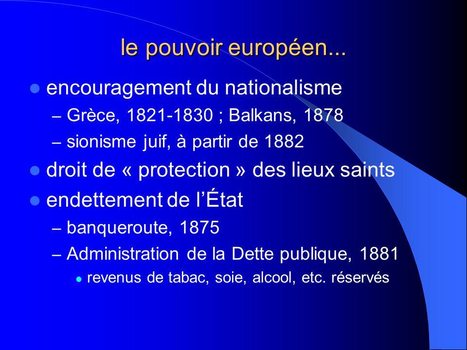le pouvoir européen... encouragement du nationalisme
