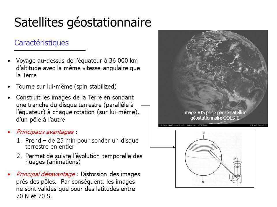Satellites géostationnaire