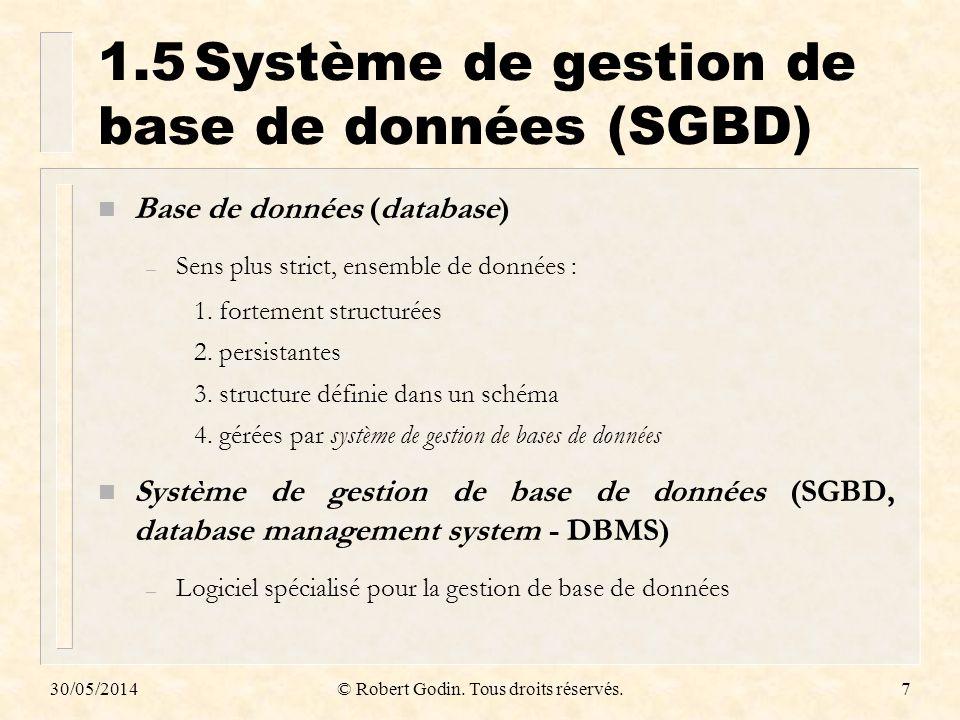 1.5 Système de gestion de base de données (SGBD)