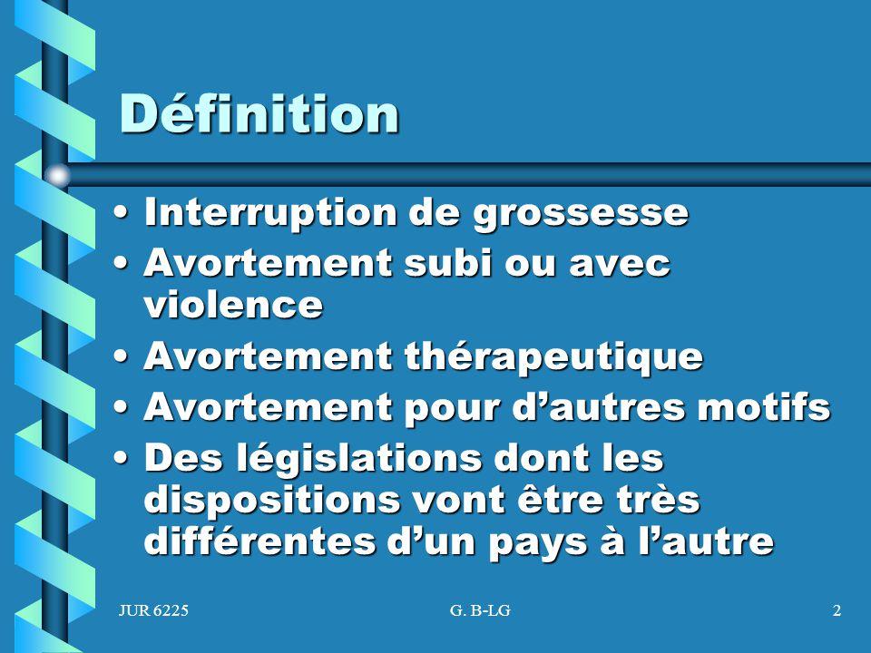 Définition Interruption de grossesse Avortement subi ou avec violence