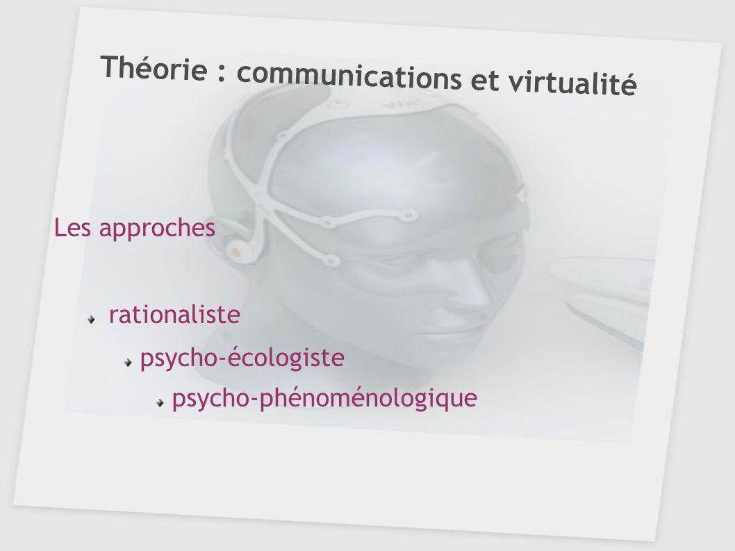 Théorie : communications et virtualité