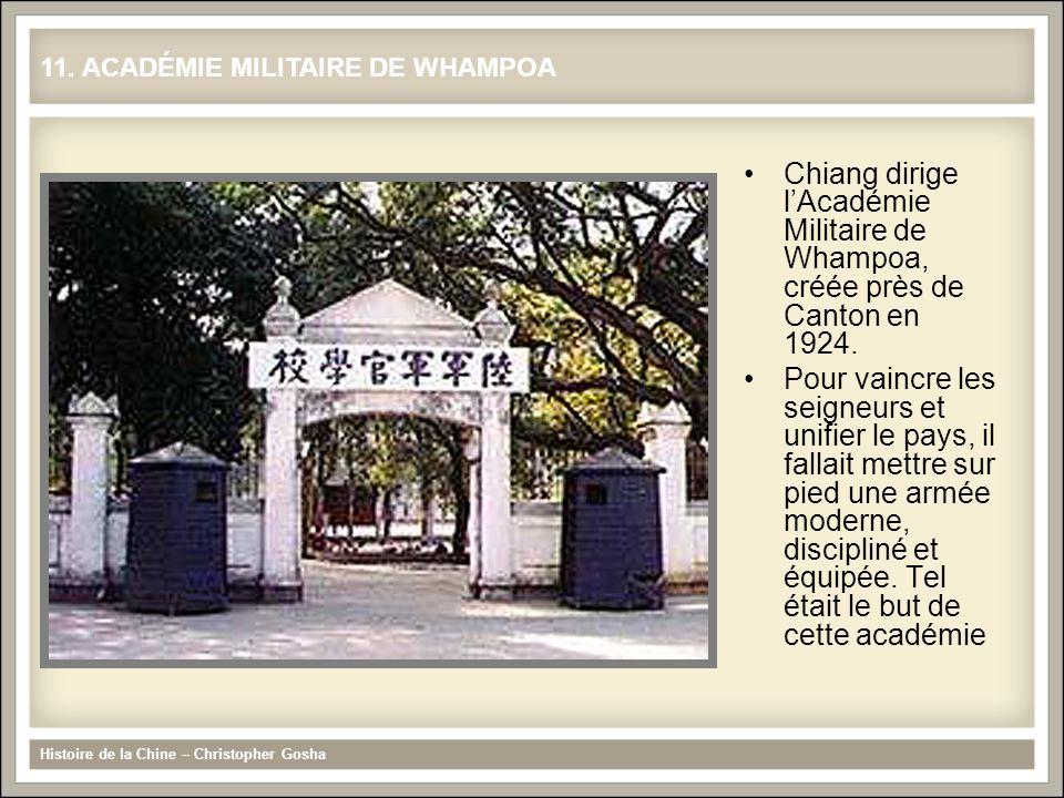 11. ACADÉMIE MILITAIRE DE WHAMPOA