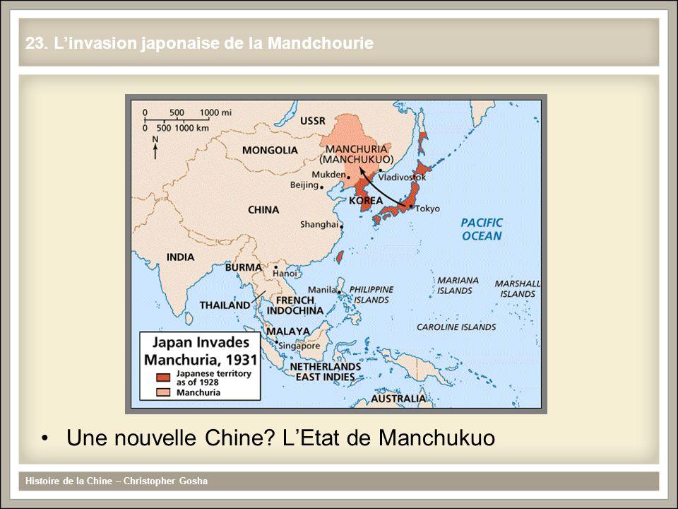 Une nouvelle Chine L'Etat de Manchukuo