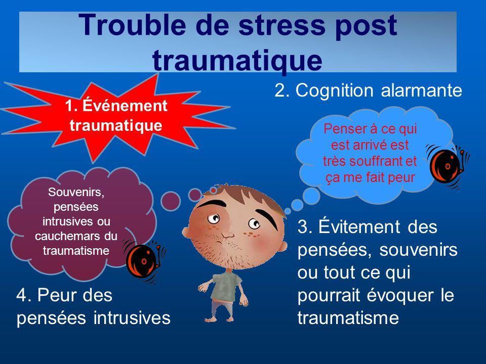 Trouble de stress post traumatique