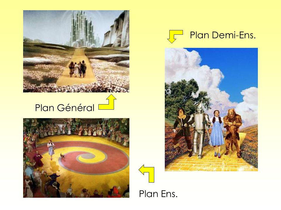 Plan Demi-Ens. Plan Général Plan Ens.