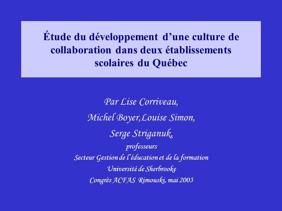 Michel Boyer,Louise Simon, Serge Striganuk,