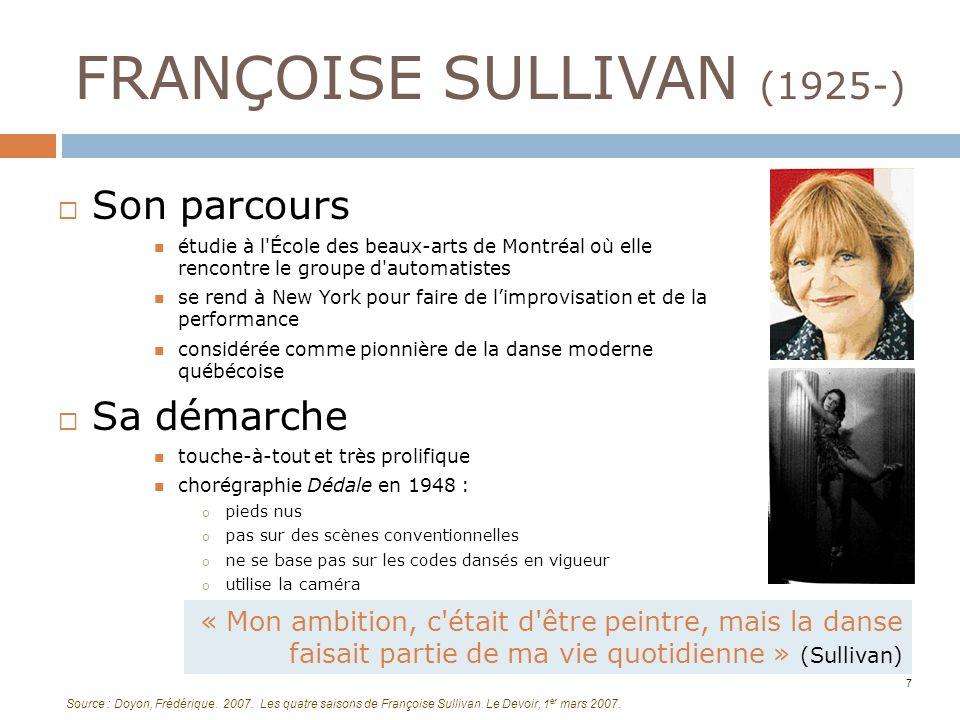 FRANÇOISE SULLIVAN (1925-)
