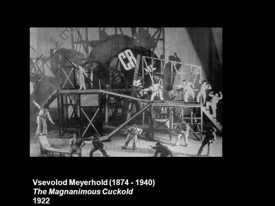 Vsevolod Meyerhold (1874 - 1940)