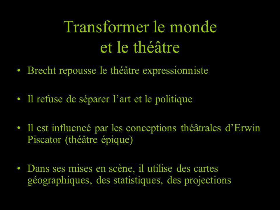 Transformer le monde et le théâtre