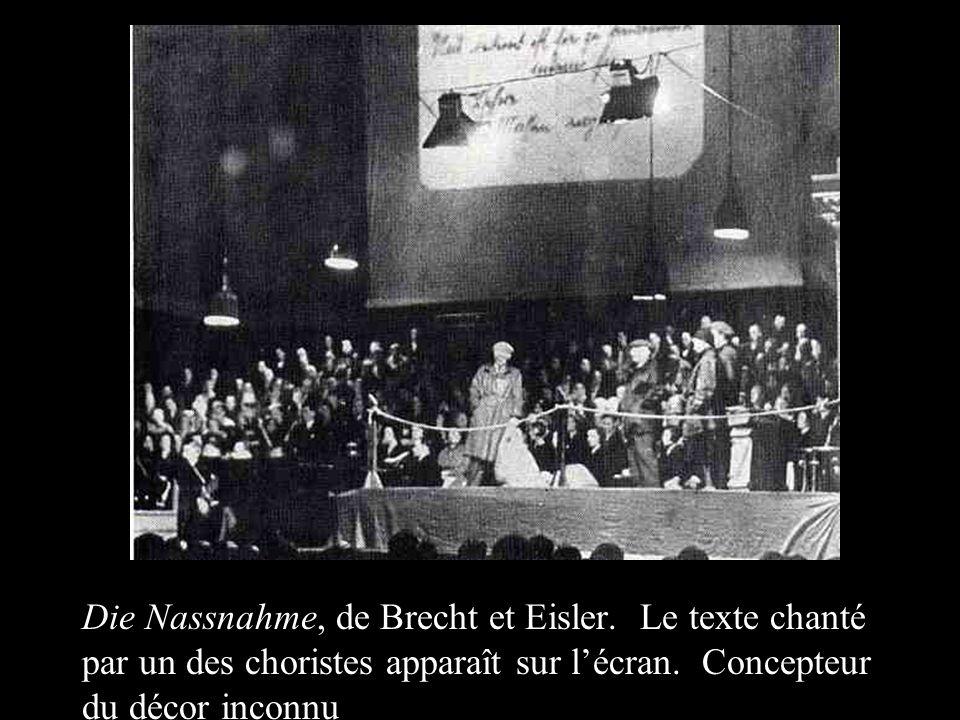 Die Nassnahme, de Brecht et Eisler