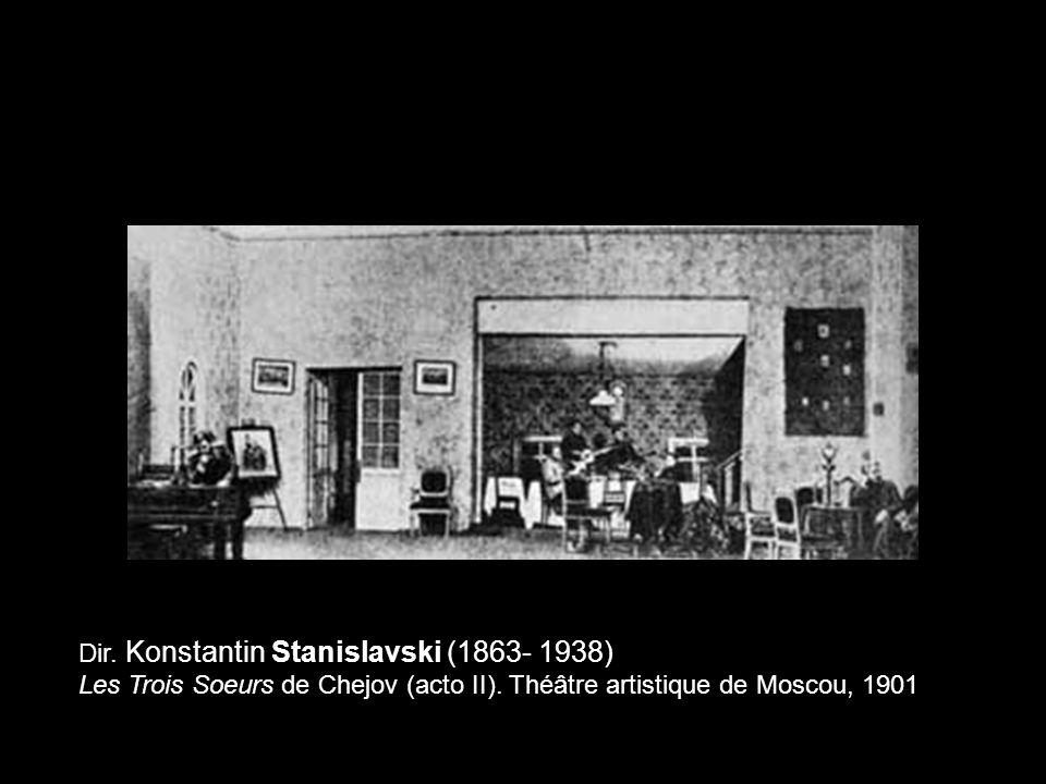 Dir. Konstantin Stanislavski (1863- 1938)