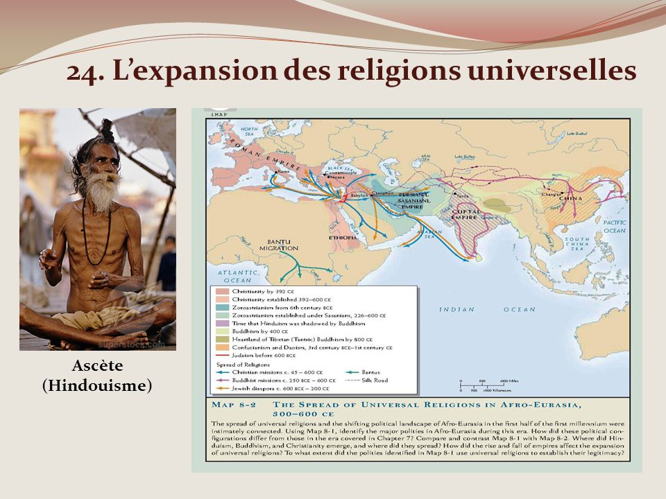 24. L'expansion des religions universelles
