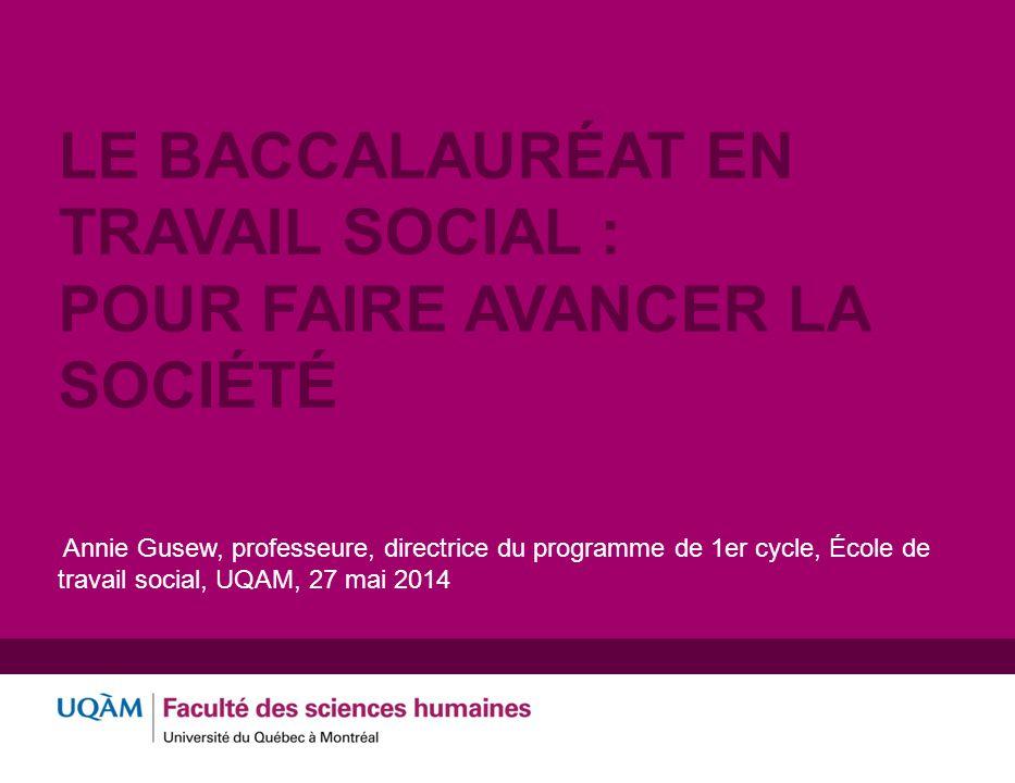 Le baccalauréat en travail social : pour faire avancer la société